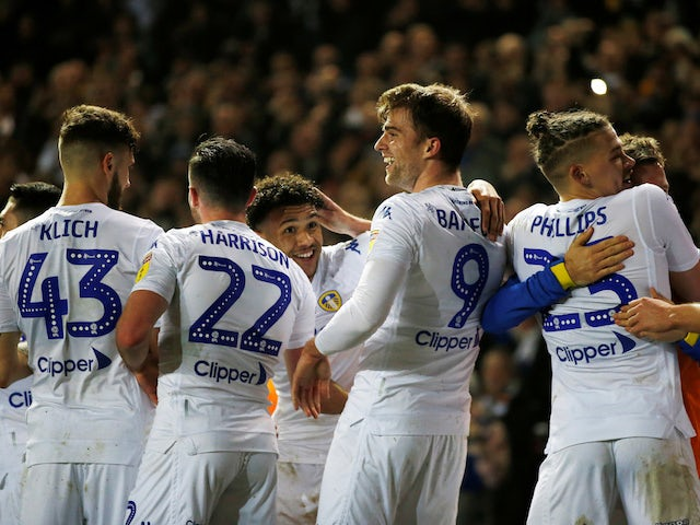 Result: Leeds reclaim top spot with West Brom mauling