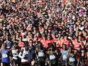 A general shot of a New York marathon on November 2018