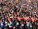 A general shot of a New York marathon on November 2018