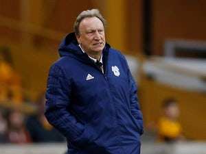 Neil Warnock watches on during Cardiff City's defeat to Wolves on March 2, 2019