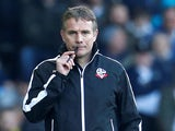 Phil Parkinson in charge of Bolton Wanderers on February 23, 2019