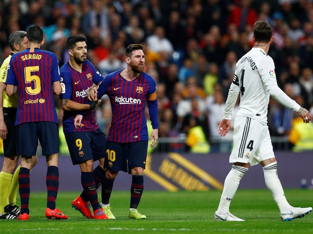 Player Ratings: Pique stars in Clasico as Bale is booed off