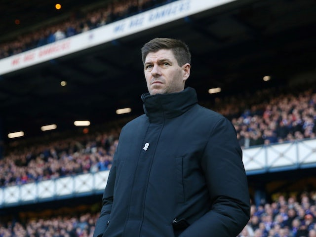Gerrard unsure when Dorrans will return for Rangers