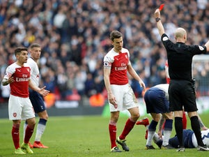 Lucas Torreira to serve three-game ban after appeal against red card is rejected