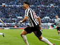 Ayoze Perez celebrates scoring for Newcastle United on March 9, 2019