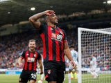 Bournemouth striker Callum Wilson celebrates scoring against Huddersfield on March 9, 2019
