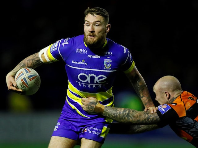 Result: Jake Mamo double helps Warrington end Castleford's perfect start