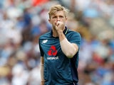 David Willey in action for England on July 17, 2018
