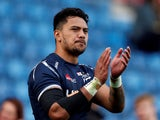 Denny Solomona pictured for Sale Sharks in September 2018