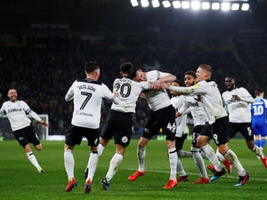 Derby's play-off hopes boosted after win against Wigan