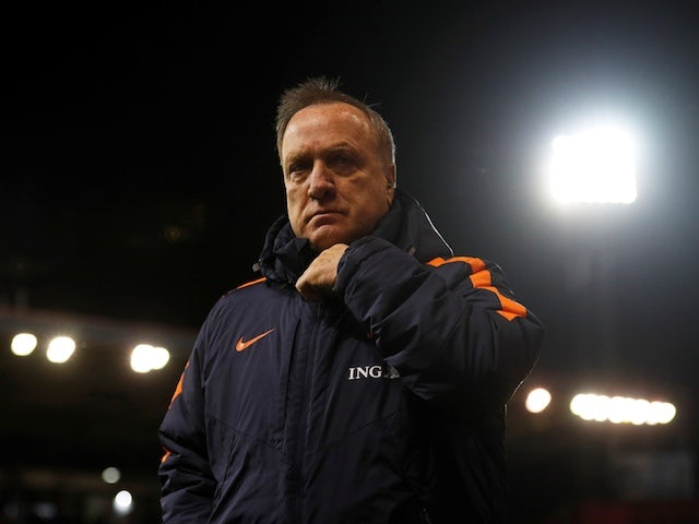 Dick Advocaat pictured in November 2017