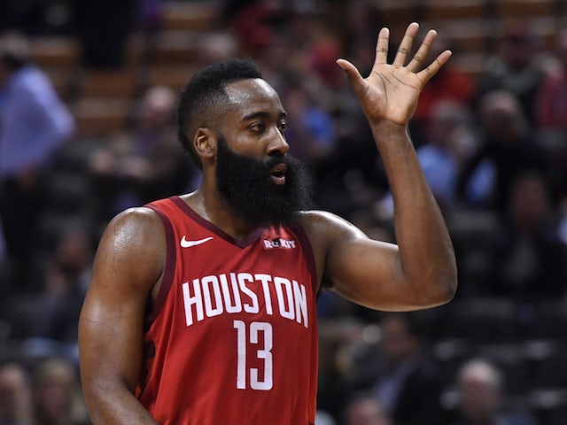 Result: Harden shines again as Houston Rockets stretch winning run to six matches