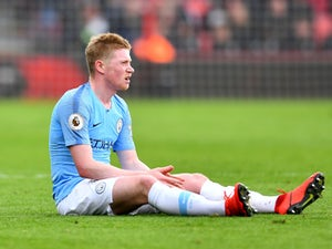 Man City injury, suspension list vs. Fulham