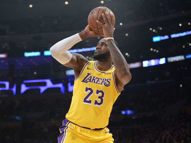 Result  LeBron James inspires the Lakers - Sports Mole 5f071a1eb