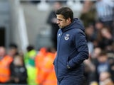 A frustrated Marco Silva in charge of Everton on March 9, 2019