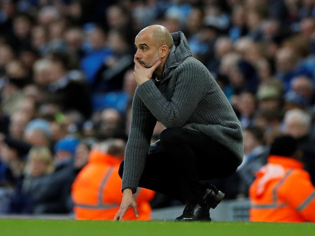 Manchester City have 'work to do' in Champions League tie, says Guardiola