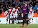 Barcelona's Philippe Coutinho in action during the La Liga clash with Rayo Vallecano on March 9, 2019