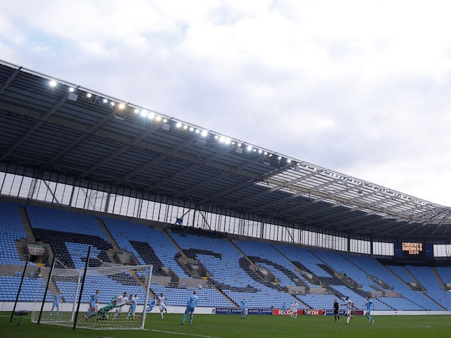 Coventry remain confident of securing a home for next season