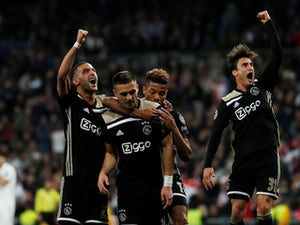 Ajax dump Real Madrid out in round of 16