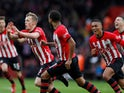 Southampton's James Ward-Prowse celebrates scoring the winner against Tottenham Hotspur on March 9, 2019