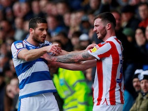 Stoke battle hard to secure point at QPR after early Sam Clucas red card