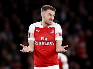 Aaron Ramsey in action for Arsenal on March 14, 2019
