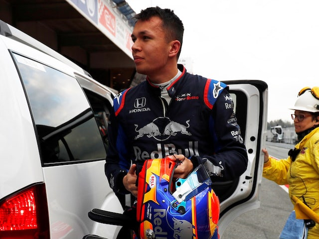 Albon reveals he is a 'practising Buddhist'