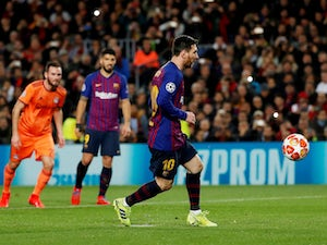 Messi nets brace as Barca secure spot in quarter-finals