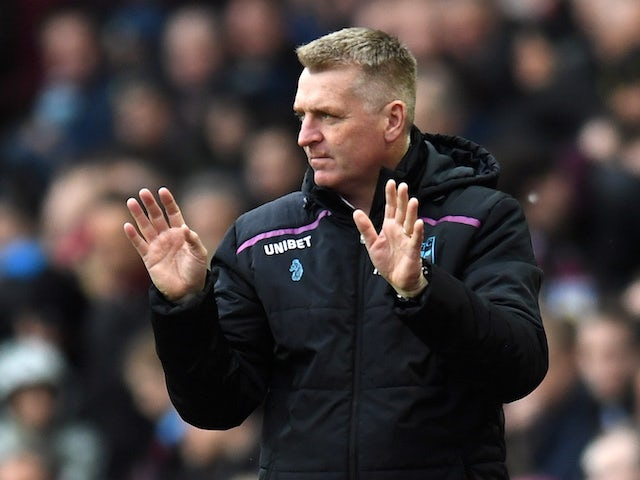 Aston Villa manager Dean Smith pictured on March 16, 2019