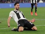 Emre Can celebrates scoring for Juventus on March 3, 2019