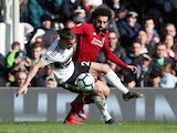 Fulham's Joe Bryan in action with Liverpool's Mohamed Salah on March 17, 2019