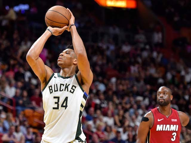 Result: Antetokounmpo masterclass sees Bucks bounce back to brush aside Heat