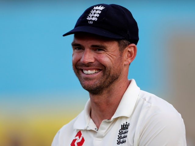 James Anderson ruled out of Ireland Test
