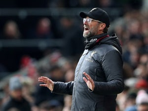 Liverpool boss Jurgen Klopp watches on on March 17, 2019