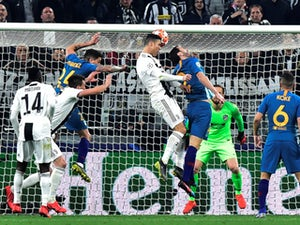 Cristiano Ronaldo scores Juventus' second goal against Atletico Madrid in the Champions League on March 12, 2019.
