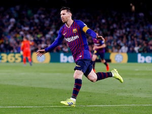 Messi hits hat-trick to send Barca 10 points clear