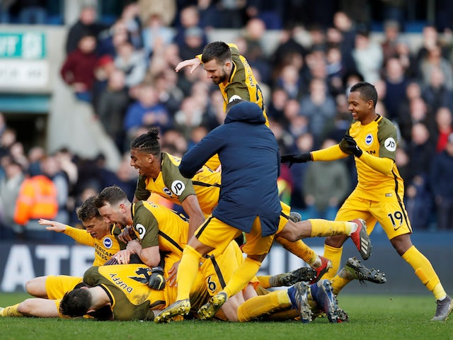 Result: Brighton see off Millwall in penalty shoot-out to reach FA Cup semi-final