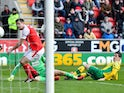 Kenny McLean scores for Norwich City on March 16, 2019