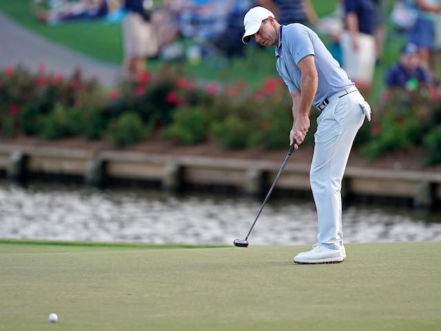 Rory McIlroy and Tommy Fleetwood share Players Championship lead