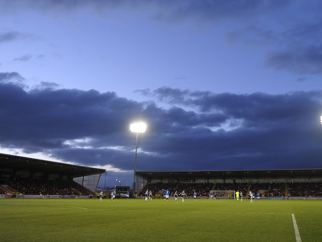 General view of St Mirren Park from 2009