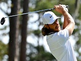Tommy Fleetwood plays his shot from the sixth tee during the first round of THE PLAYERS Championship golf tournament at TPC Sawgrass on March 14, 2019