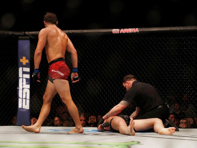 Result: Masvidal knocks out Till before backstage altercation with Edwards