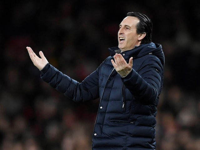 Unai Emery: Arsenal are