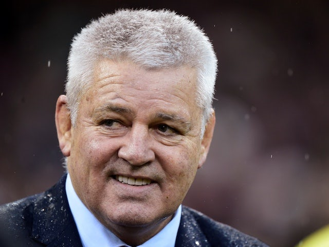 Gatland to be unveiled as Lions head coach again on Wednesday