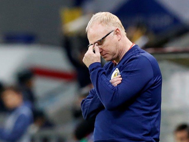 Scotland looking to revive Euro 2020 hopes after sacking McLeish