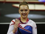 Amy Tinkler pictured in April 2017