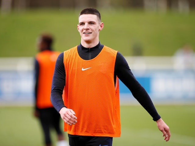 Declan Rice expresses pride at England call-up