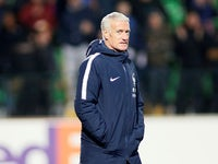 France boss Didier Deschamps pictured on March 22, 2019