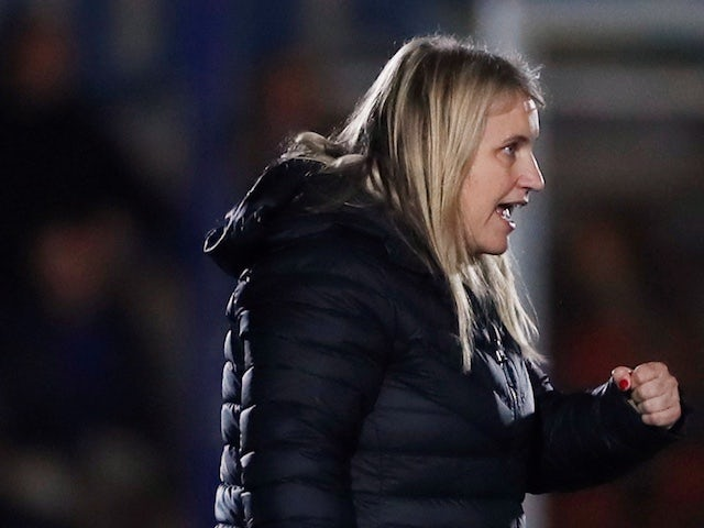 Chelsea boss Emma Hayes plays down England speculation