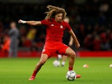 Ethan Ampadu in action for Wales on October 18, 2018
